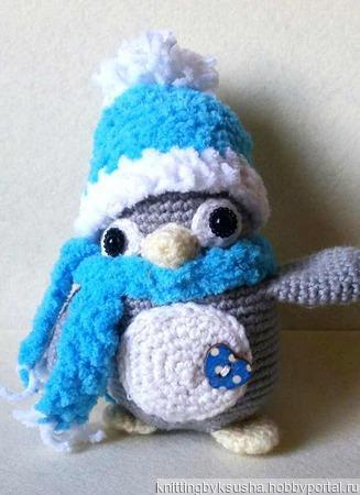 Пингвинчик Ричи ручной работы на заказ