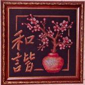 фото: Картины и панно (ветка в цвету)