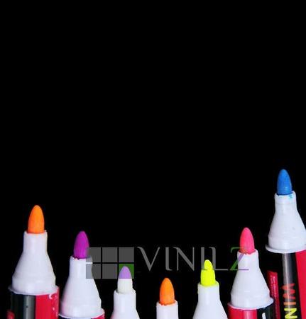 Меловой маркер (жидкий мел) для письма на меловых поверхностях ручной работы на заказ