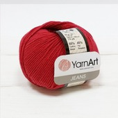 Jeans 51 т.красный