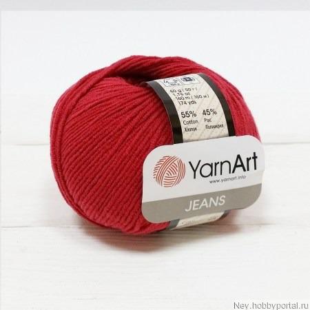 Jeans 51 т.красный ручной работы на заказ