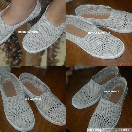 Вязанная обувь ручной работы на заказ