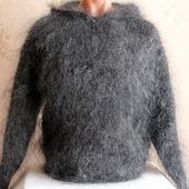 """Пуховый свитер """"Шерлок""""  с капюшоном"""