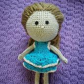 Кукла вязаная крючком