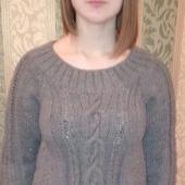 фото: Одежда (вязаная кофта женская)
