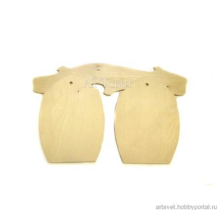 047 Основа для ключницы или держатель разделочных досок ручной работы на заказ