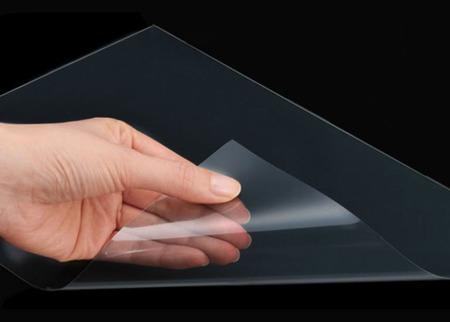 Пластик прозрачный ПЭТ листовой ручной работы на заказ