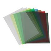 Прозрачный цветной пластик листовой А4, 0.18 мм, ПВХ, в ассортименте