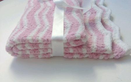 Плед одеяло детское плюшевое ручной работы на заказ