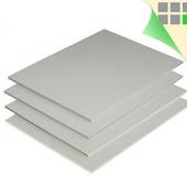 Пластик ПВХ вспененный, 3 мм (белый), размеры в ассортименте