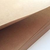 Крафт бумага 70х50 см, плотная крафт-бумага в листах, 200 г/м2