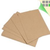 Крафт бумага А2 590х420 мм, плотная крафт-бумага в листах A2, 200 г/м2