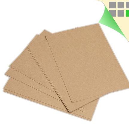 Крафт бумага А2 590х420 мм, плотная крафт-бумага в листах A2, 200 г/м2 ручной работы на заказ
