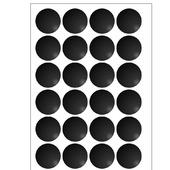 фото: Промышленные этикетки, бирки — упаковка черного цвета