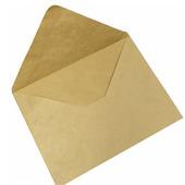 Крафт конверт 39х29 см, большой, треугольный клапан (Е4, коричневый)