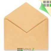 Крафт конверт С4 229х324 мм, треугольный клапан (C4,  коричневый)
