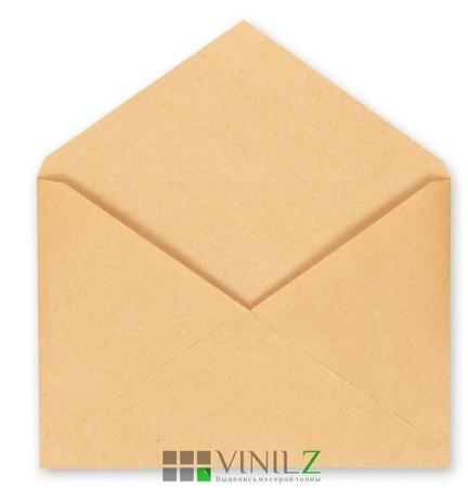 Крафт конверт С4 229х324 мм, треугольный клапан (C4,  коричневый) ручной работы на заказ