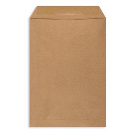 Крафт конверт (пакет) С4 229х324 мм, плоский (C4 бумажный, коричневый) ручной работы на заказ
