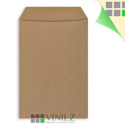 Крафт конверт  пакет C5 162х229 мм, плоский (С5 бумажный, коричневый) ручной работы на заказ