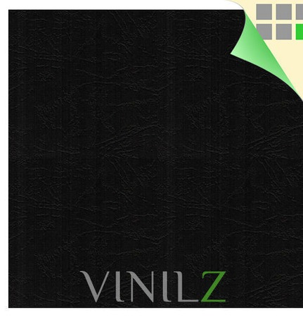Дизайнерская бумага черная (картон) ручной работы на заказ