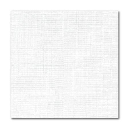 Дизайнерская бумага (картон) А3, фактура лен, белая  250 г/м2 ручной работы на заказ