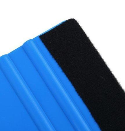 Ракель комбинированный (пластик, фетр), ракель для виниловой пленки ручной работы на заказ