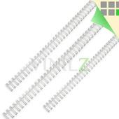 Пружина для переплета металлическая (А4, для брошюратора, цвет белый)