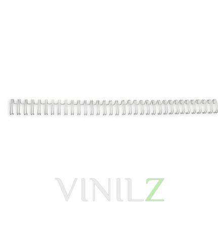 Пружина для переплета металлическая (А4, для брошюратора, цвет белый) ручной работы на заказ