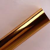 Самоклеящаяся пленка золото (зеркальный хром) разные размеры