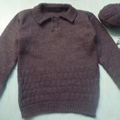 Пуловер поло для мальчика