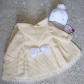 Пальто для девочки 1-2 лет