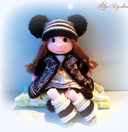 Шоколадная девочка ручной работы на заказ