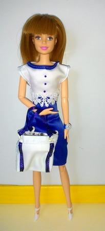 Платье для Барби ручной работы на заказ