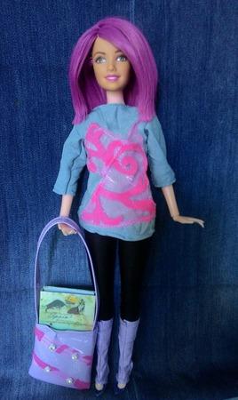 Сумка для Барби ручной работы на заказ