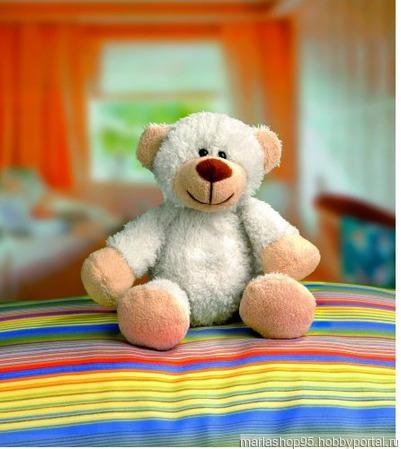 Набор для создания игрушки Плюшевая медведица Lea Glorex ручной работы на заказ
