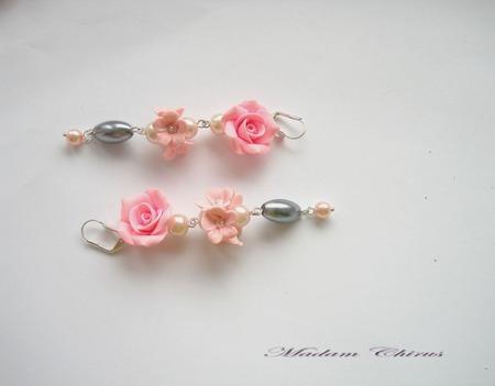 Колье чокер с розами ручной работы на заказ