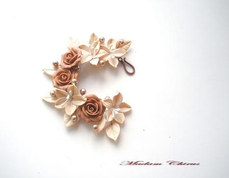Вечерний комплект с лилиями   3 шоколада ручной работы на заказ