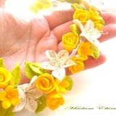 Комплект с лилиями и розами Дарю веснушки