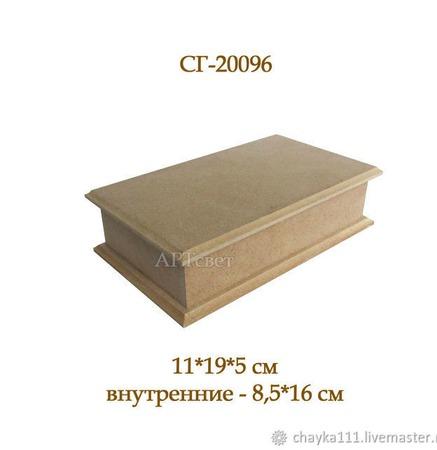 096 Шкатулка-купюрница. Заготовки для декупажа ручной работы на заказ