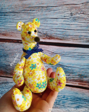 Медвежонок Бупи ручной работы на заказ