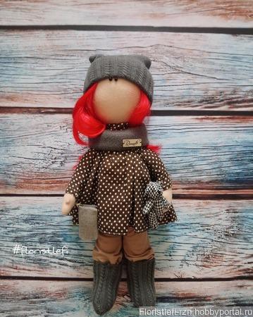 Интерьерная кукла Аленка ручной работы на заказ