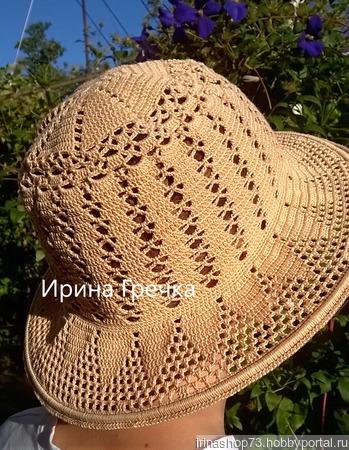 Шляпка с полями ручной работы на заказ