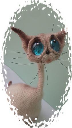 Лунный кот ручной работы на заказ
