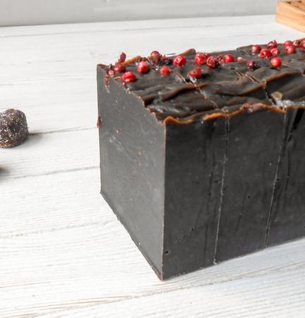 """Натуральное мыло """"Шоколад и перец"""" ручной работы на заказ"""