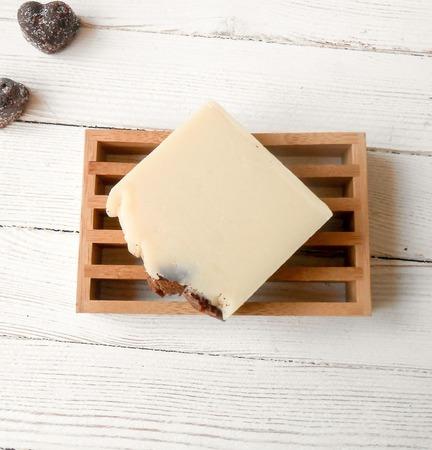 "Натуральное мыло ""Белый шоколад"" ручной работы на заказ"