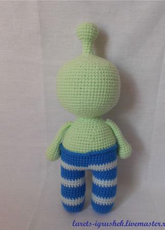 Инопланетянин Пип ручной работы на заказ