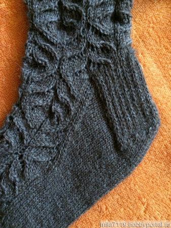 Носочки ажурные ручной работы на заказ