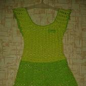 Платье детское ручной работы