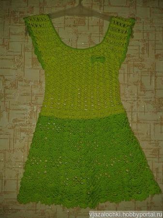 Платье детское ручной работы ручной работы на заказ