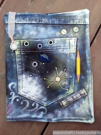 Обложки для дневников (тетрадей) ручной работы на заказ